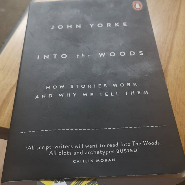 "A fascinating read and one can't help be convinced by Yorke's theories on stories and why we tell them. It comes down to ""the journey into the woods... Finding of the missing part, it's retrieval and the making of something while, is integral. That something can be us, a puzzle, a mystery, or... corruptions. Two opposites are assimilated and a conflict is stilled. We crave stories like a drug. For it is in story, we are able to bring our inner selves into line with the external world. Some kind of sense is made, and if we're lucky, some kind of truth discovered."" I'd recommend this book to everyone who loves story, either in TV, film, theatre, poetry or fiction. A riveting read backed up examples from TV and film."